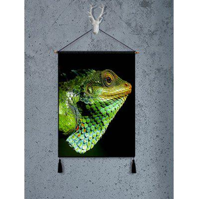 Lizard Pattern Tassel Hanging Painting