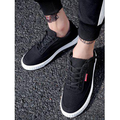 Color Block Canvas SneakersCasual Shoes<br>Color Block Canvas Sneakers<br><br>Closure Type: Lace-Up<br>Embellishment: None<br>Gender: For Men<br>Occasion: Casual<br>Outsole Material: Rubber<br>Package Contents: 1 x Skate Shoes (pair)<br>Pattern Type: Patchwork<br>Season: Summer, Spring/Fall<br>Shoe Width: Medium(B/M)<br>Toe Shape: Round Toe<br>Toe Style: Closed Toe<br>Upper Material: Canvas<br>Weight: 1.1400kg