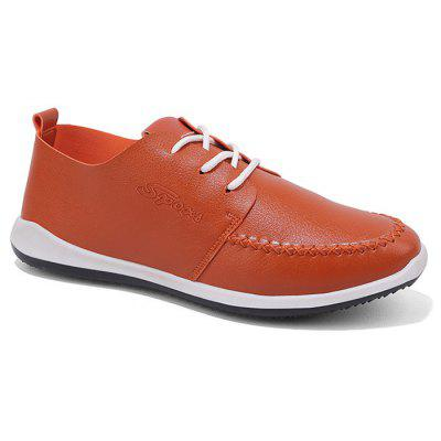 Contrast Tongue Stitching Casual Shoes