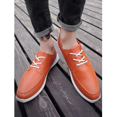 Contrast Tongue Stiching Casual ShoesCasual Shoes<br>Contrast Tongue Stiching Casual Shoes<br><br>Closure Type: Lace-Up<br>Embellishment: None<br>Gender: For Men<br>Occasion: Casual<br>Outsole Material: Rubber<br>Package Contents: 1 x Casual Shoes (pair)<br>Pattern Type: Patchwork<br>Season: Summer, Spring/Fall<br>Shoe Width: Medium(B/M)<br>Toe Shape: Round Toe<br>Toe Style: Closed Toe<br>Upper Material: PU<br>Weight: 1.1400kg