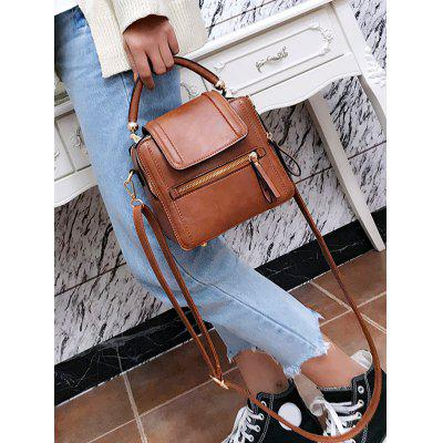 PU Leather Zipper Closure Crossbody BagHandbags<br>PU Leather Zipper Closure Crossbody Bag<br><br>Closure Type: Zipper<br>Gender: For Women<br>Handbag Type: Shoulder bag<br>Main Material: PU<br>Occasion: Versatile<br>Package Contents: 1 x Crossbody Bag<br>Pattern Type: Others<br>Style: Casual<br>Weight: 0.6000kg