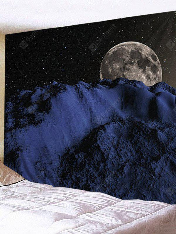 Starry Sky Earth Printed Wall Hanging Tapestry