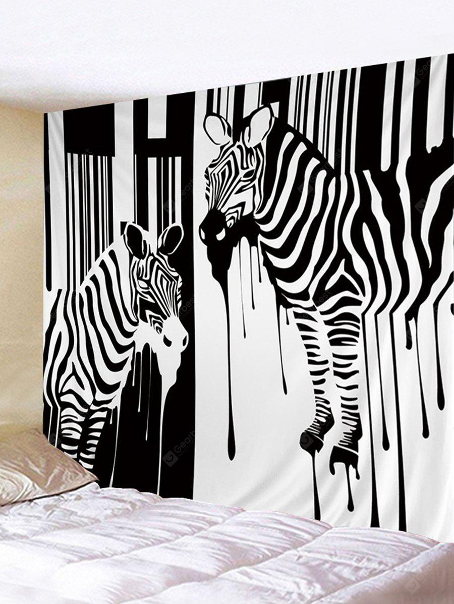 Zebra Printed Wall Hanging Tapestry