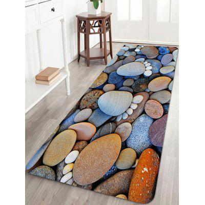 Stones Footprint Pattern Indoor Outdoor Area Rug