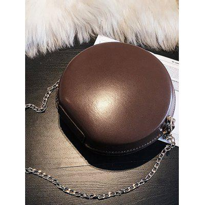Round Shape Hard Case Chain Crossbody Bag pineapple shape cut out crossbody bag
