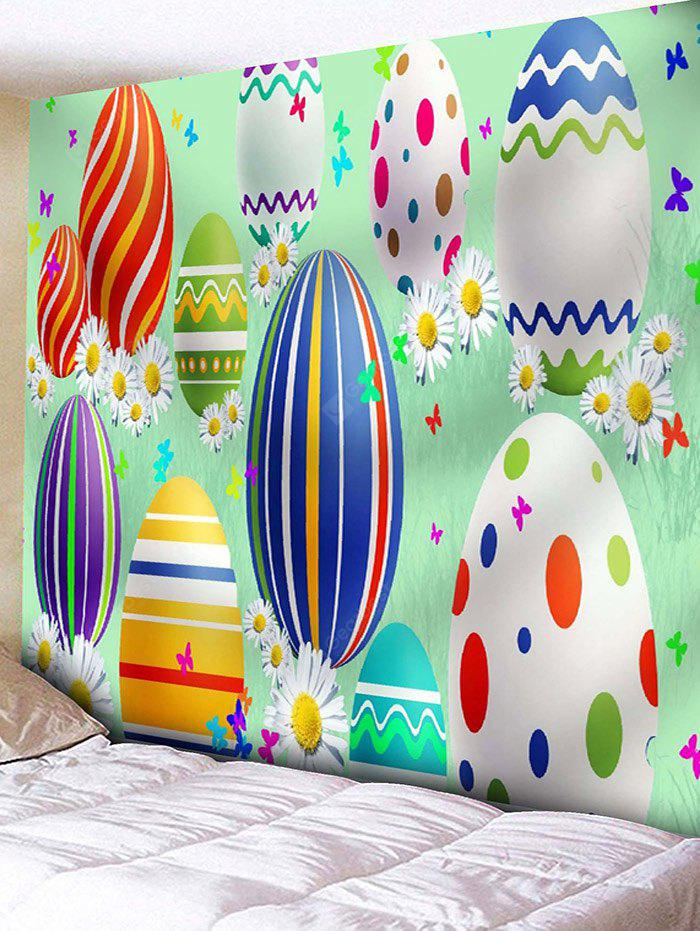 Easter Egg Print Wall Tapestry