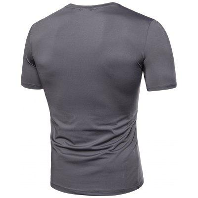 Crew Neck Accordion Pleat T-shirtMens Short Sleeve Tees<br>Crew Neck Accordion Pleat T-shirt<br><br>Collar: Crew Neck<br>Material: Cotton, Spandex<br>Package Contents: 1 x T-shirt<br>Pattern Type: Solid<br>Sleeve Length: Short<br>Style: Casual, Fashion<br>Weight: 0.2800kg