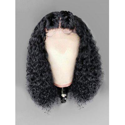 Long Middle Part Shaggy Curly Lace Front Synthetic Wig