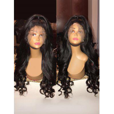 Free Part Long Loose Wave Lace Front Synthetic Wig