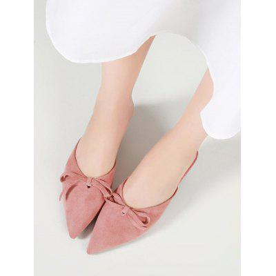 Bow Kitten Heel Point Toe PumpsWomens Pumps<br>Bow Kitten Heel Point Toe Pumps<br><br>Embellishment: Bowknot<br>Heel Height: 4.5CM<br>Heel Height Range: Med(1.75-2.75)<br>Heel Type: Kitten Heel<br>Occasion: Casual<br>Package Contents: 1 x Pumps (pair)<br>Pumps Type: Slingbacks<br>Season: Spring/Fall, Summer<br>Shoe Width: Medium(B/M)<br>Toe Shape: Pointed Toe<br>Toe Style: Closed Toe<br>Upper Material: Suede<br>Weight: 1.2000kg
