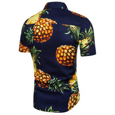 Turndown Collar Fruits Print ShirtMens Shirts<br>Turndown Collar Fruits Print Shirt<br><br>Collar: Turn-down Collar<br>Material: Cotton, Polyester<br>Package Contents: 1 x Shirt<br>Pattern Type: Fruit<br>Shirts Type: Casual Shirts<br>Sleeve Length: Short<br>Weight: 0.2000kg