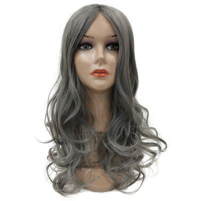 Long Middle Parting Synthetic Wavy Wig