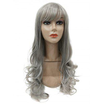 Long Side Bang Wavy Party Synthetic Wig