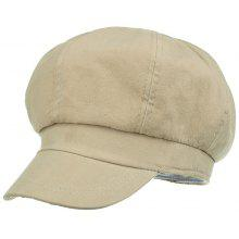 Outdoor Line Embroidery Breathable Beret