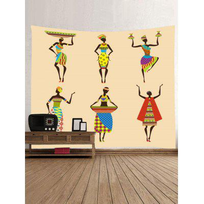 Wall Hanging Decoration African Women Print TapestryBlankets &amp; Throws<br>Wall Hanging Decoration African Women Print Tapestry<br><br>Feature: Removable, Washable<br>Material: Polyester<br>Package Contents: 1 x Tapestry<br>Shape/Pattern: Character<br>Style: Fashion<br>Theme: People<br>Weight: 0.3000kg
