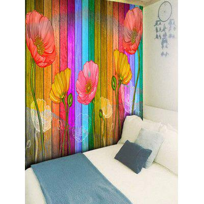 Wall Hanging Decoration Flowers Wood Grain Print TapestryBlankets &amp; Throws<br>Wall Hanging Decoration Flowers Wood Grain Print Tapestry<br><br>Feature: Removable, Washable<br>Material: Polyester<br>Package Contents: 1 x Tapestry<br>Shape/Pattern: Floral,Wood<br>Style: Fashion<br>Theme: Florals<br>Weight: 0.2200kg