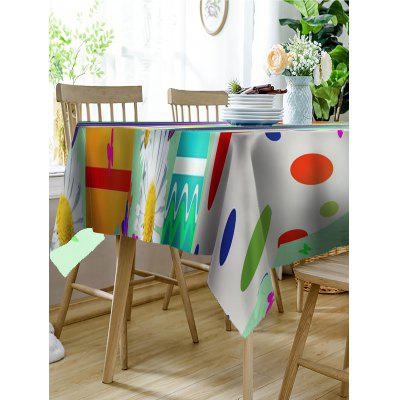 Easter Holiday Eggs Print Table ClothTable Accessories<br>Easter Holiday Eggs Print Table Cloth<br><br>Material: Linen<br>Package Contents: 1 x Tablecloth<br>Pattern Type: Floral<br>Type: Table Cloth<br>Weight: 0.3150kg