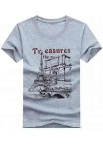 Tower Print Short Sleeve T-shirt
