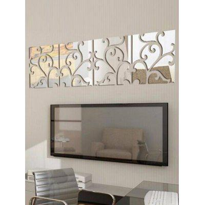 32pcs Mirror Stickers Art DecalsWall Stickers<br>32pcs Mirror Stickers Art Decals<br><br>Feature: Removable<br>Functions: Tile Stickers<br>Material: Acrylic<br>Package Contents: 1 x Wall Stickers (Set)<br>Pattern Type: Print<br>Wall Sticker Type: Mirror Wall Stickers<br>Weight: 0.2200kg