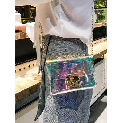 Transparent Laser Shining Chain Crossbody Bag blood pressure laser therapy watch cardiovascular therapeutic apparatus laser watch laser treatment