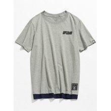 Short Sleeve Cotton Round Neck Tee