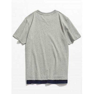 Short Sleeve Cotton Round Neck TeeMens Short Sleeve Tees<br>Short Sleeve Cotton Round Neck Tee<br><br>Collar: Round Neck<br>Material: Cotton<br>Package Contents: 1 x Tee<br>Pattern Type: Letter<br>Sleeve Length: Short<br>Style: Casual, Fashion<br>Weight: 0.2800kg