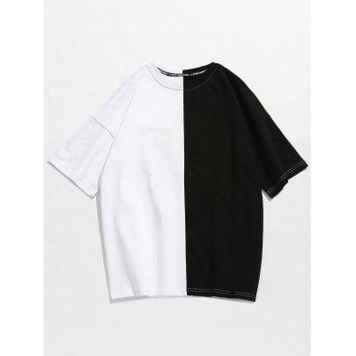 Two Tone Star Embroidered TeeMens Short Sleeve Tees<br>Two Tone Star Embroidered Tee<br><br>Collar: Round Neck<br>Embellishment: Embroidery<br>Material: Cotton<br>Package Contents: 1 x Tee<br>Pattern Type: Others<br>Sleeve Length: Short<br>Style: Casual, Fashion<br>Weight: 0.3100kg