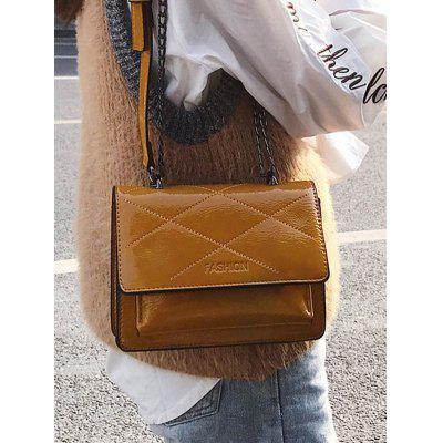 Flapped Quilted Chic Crossbody Bag kalencom cумка traveler bag quilted cream