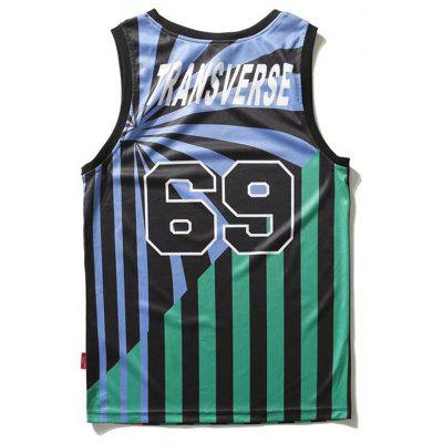 69 Pattern Striped Sport Tank TopMens Short Sleeve Tees<br>69 Pattern Striped Sport Tank Top<br><br>Material: Polyester<br>Package Contents: 1 x Tank Top<br>Pattern Type: Striped<br>Shirt Length: Regular<br>Style: Active<br>Weight: 0.2000kg