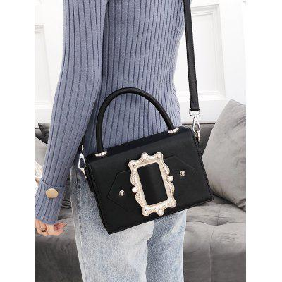 Buckled PU Leather Crystals Crossbody BagCrossbody Bags<br>Buckled PU Leather Crystals Crossbody Bag<br><br>Closure Type: Cover<br>Gender: For Women<br>Handbag Size: Small(20-30cm)<br>Handbag Type: Crossbody bag<br>Interior: Interior Zipper Pocket<br>Main Material: PU<br>Occasion: Versatile<br>Package Contents: 1 x Crossbody Bag<br>Pattern Type: Solid<br>Size(CM)(L*W*H): 21*6*14CM<br>Style: Casual<br>Weight: 0.7000kg