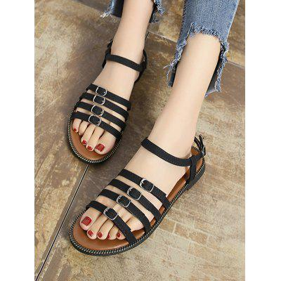 Hollow Out Roman Gladiator Flat SandalsWomens Sandals<br>Hollow Out Roman Gladiator Flat Sandals<br><br>Closure Type: Buckle Strap<br>Gender: For Women<br>Heel Type: Flat Heel<br>Occasion: Casual<br>Package Contents: 1 x Sandals (pair)<br>Pattern Type: Others<br>Sandals Style: Gladiator<br>Shoe Width: Medium(B/M)<br>Style: Leisure<br>Upper Material: PU<br>Weight: 1.2000kg