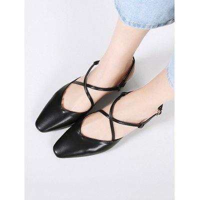 PU Leather Criss Cross Chunky Heel SandalsWomens Sandals<br>PU Leather Criss Cross Chunky Heel Sandals<br><br>Closure Type: Buckle Strap<br>Gender: For Women<br>Heel Height: 8CM<br>Heel Height Range: High(3-3.99)<br>Heel Type: Chunky Heel<br>Occasion: Casual<br>Package Contents: 1 x Sandals (pair)<br>Pattern Type: Solid<br>Sandals Style: Cross-Strap<br>Style: Fashion<br>Upper Material: PU<br>Weight: 1.3800kg
