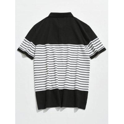 Short Sleeve Striped Polo TeeMens Short Sleeve Tees<br>Short Sleeve Striped Polo Tee<br><br>Collar: Polo Collar<br>Material: Cotton, Polyester, Spandex<br>Package Contents: 1 x Tee<br>Pattern Type: Striped<br>Sleeve Length: Short<br>Style: Fashion, Casual<br>Weight: 0.2600kg