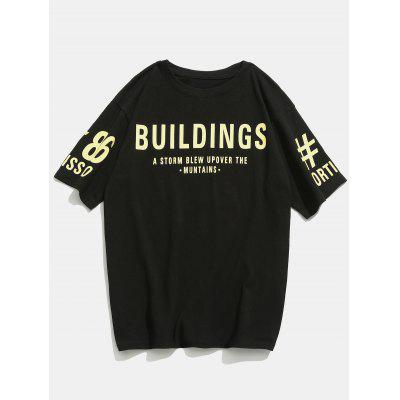 Letter Slogan Patterned T-shirtMens Short Sleeve Tees<br>Letter Slogan Patterned T-shirt<br><br>Collar: Crew Neck<br>Material: Cotton, Polyester<br>Package Contents: 1 x T-shirt<br>Pattern Type: Letter<br>Sleeve Length: Short<br>Style: Casual, Fashion<br>Weight: 0.3500kg