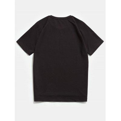 Crew Neck Raglan Sleeves TeeMens Short Sleeve Tees<br>Crew Neck Raglan Sleeves Tee<br><br>Collar: Crew Neck<br>Material: Cotton, Polyester<br>Package Contents: 1 x Tee<br>Pattern Type: Solid<br>Sleeve Length: Short<br>Style: Casual, Fashion<br>Weight: 0.2500kg