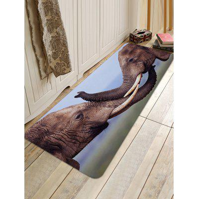 Two Elephants Playing Print Floor RugBlankets &amp; Throws<br>Two Elephants Playing Print Floor Rug<br><br>Materials: Coral FLeece<br>Package Contents: 1 x Floor Rug<br>Pattern: Animal<br>Products Type: Bath rugs<br>Style: Natural
