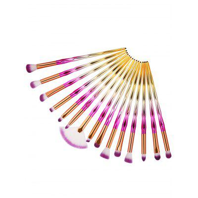 Multifunctional 15Pcs Color Changing Handle Eye Makeup Brush CollectionMakeup Brushes &amp; Tools<br>Multifunctional 15Pcs Color Changing Handle Eye Makeup Brush Collection<br><br>Brush Hair Material: Synthetic Hair<br>Category: Makeup Brushes Set<br>Package Contents: 15 x Eye Makeup Brush (Pcs)<br>Season: Fall, Spring, Summer, Winter<br>Weight: 0.1176kg
