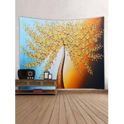 Tree Painting Print Tapestry Wall Hanging ArtBlankets &amp; Throws<br>Tree Painting Print Tapestry Wall Hanging Art<br><br>Feature: Removable, Washable<br>Material: Polyester<br>Package Contents: 1 x Tapestry<br>Shape/Pattern: Tree<br>Style: Natural<br>Weight: 0.3000kg