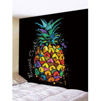 Pineapple Painting Print Tapestry Wall Hanging Art