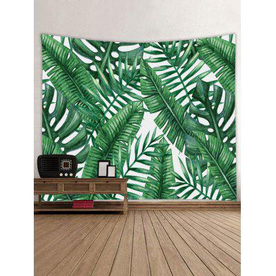 Tropical Leaves Print Tapestry Wall Hanging Decor butterfly print home decor wall hanging tapestry
