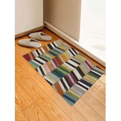 Colorful Wood Board Pattern Indoor Outdoor Area Rug wood merry christmas pattern indoor outdoor area rug