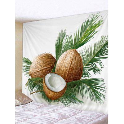 Coconuts Pattern Wall Decor Tapestry