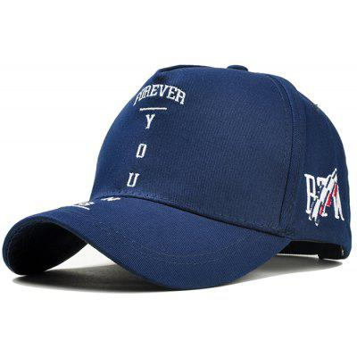 Unique Letter Embroidery Breathable Baseball Hat