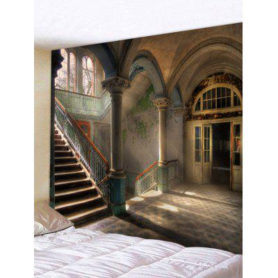 Old Indoor House Print Tapestry