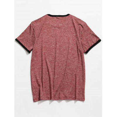 Space Dye Casual TeeMens Short Sleeve Tees<br>Space Dye Casual Tee<br><br>Collar: Round Neck<br>Material: Polyester, Spandex<br>Package Contents: 1 x Tee<br>Pattern Type: Others<br>Sleeve Length: Short<br>Style: Casual, Fashion<br>Weight: 0.2200kg