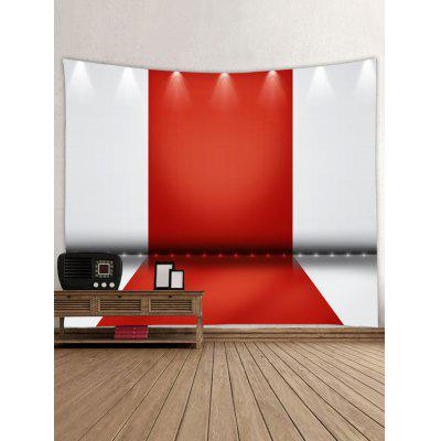 Spotlight Red Carpet Pattern TapestryBlankets &amp; Throws<br>Spotlight Red Carpet Pattern Tapestry<br><br>Feature: Removable, Washable<br>Material: Polyester<br>Package Contents: 1 x Tapestry<br>Shape/Pattern: Print<br>Style: Casual<br>Weight: 0.3000kg