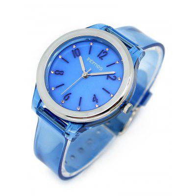 Blue Transparent PU Case and Strap WatchKids Watches<br>Blue Transparent PU Case and Strap Watch<br><br>Band material: PU Leather<br>Case material: Alloy<br>Dial Shape: Round<br>Gender: For Women<br>Movement: Quartz<br>Package Contents: 1 x Watch<br>Style: Sport<br>Type: Quartz watch<br>Water-Proof: Yes