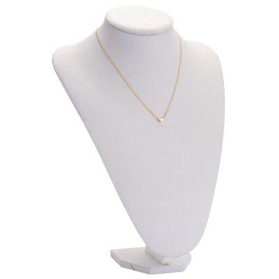Fashionable Heart Alloy Pendant Necklace for Ladies