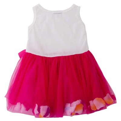 Sweet Round Collar Sleeveless Colorful Petals Baby Girls Gauze Vest Dressbaby dresses<br>Sweet Round Collar Sleeveless Colorful Petals Baby Girls Gauze Vest Dress<br><br>Dresses Length: Knee-Length<br>Embellishment: Bowknot<br>Fabric Type: Grenadine and Knitted Cloths<br>Material: Cotton<br>Neckline: Round Collar<br>Package Contents: 1 x Dress<br>Pattern Type: Patchwork<br>Season: Summer<br>Silhouette: Ball Gown<br>Sleeve Length: Sleeveless<br>Sleeve Type: Tank<br>Style: Cute<br>Waist: Natural<br>Weight: 0.1000kg<br>With Belt: No