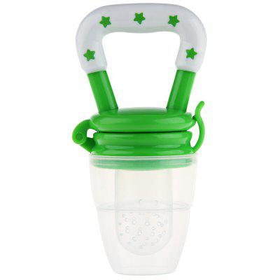 Novelty Lightweight Silicone Babies Pacifier Fresh Food Feeder Tool